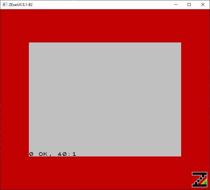 Ensamblador ZX Spectrum Pong - Cls